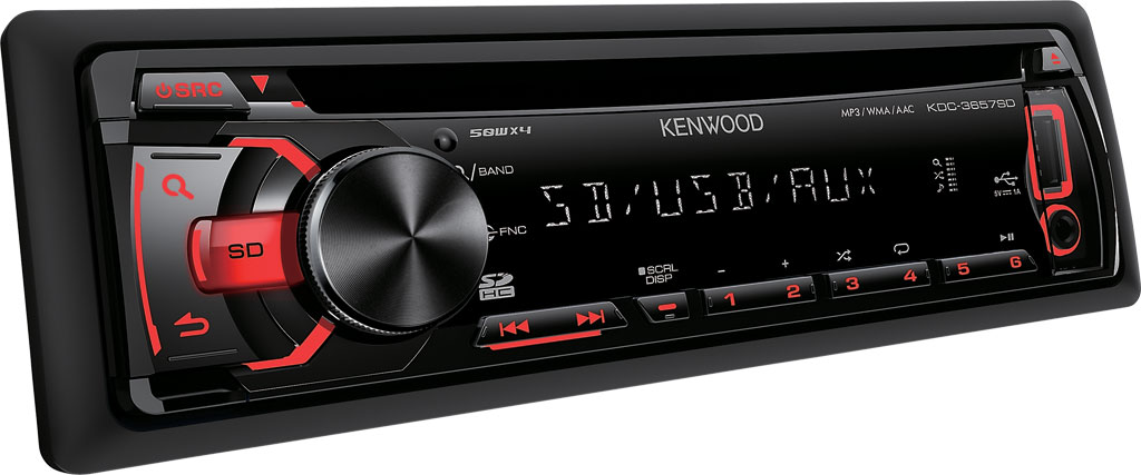 CD/USB ресивер Kenwood KDC-3657SD