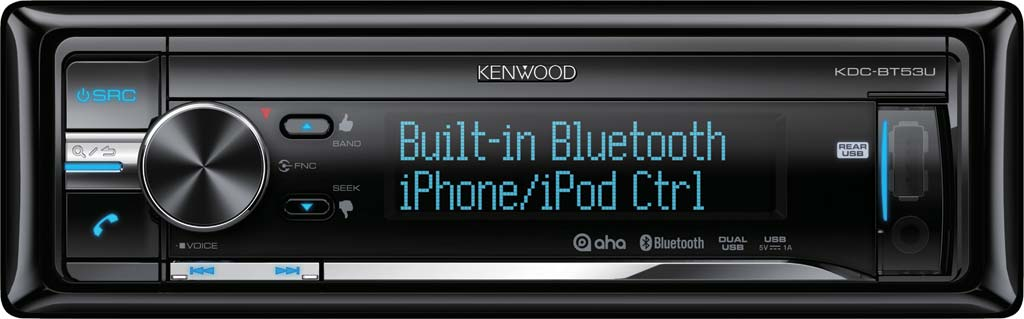 CD/USB ресивер Kenwood KDC-BT53U