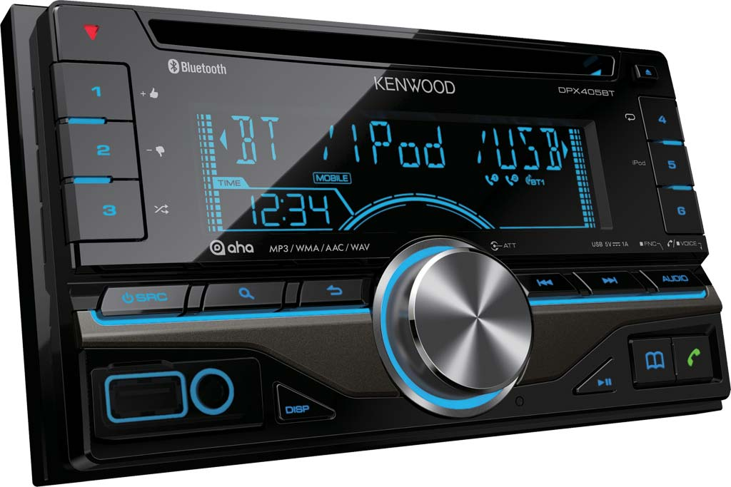 CD/USB ресивер Kenwood DPX-405BT