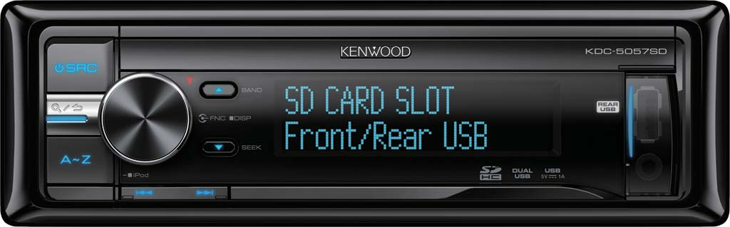 CD/USB ресивер Kenwood KDC-5057SD