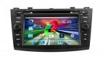 товар мультимедийно-навигационная система Gazer CM182-BL (Mazda 3)