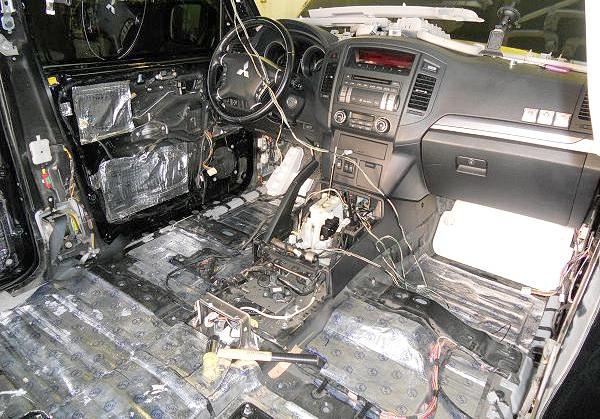 Шумоизоляция автомобиля и качественный тюнинг